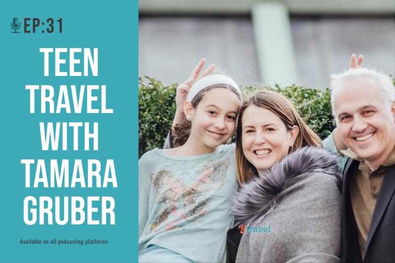 teen travel podcast
