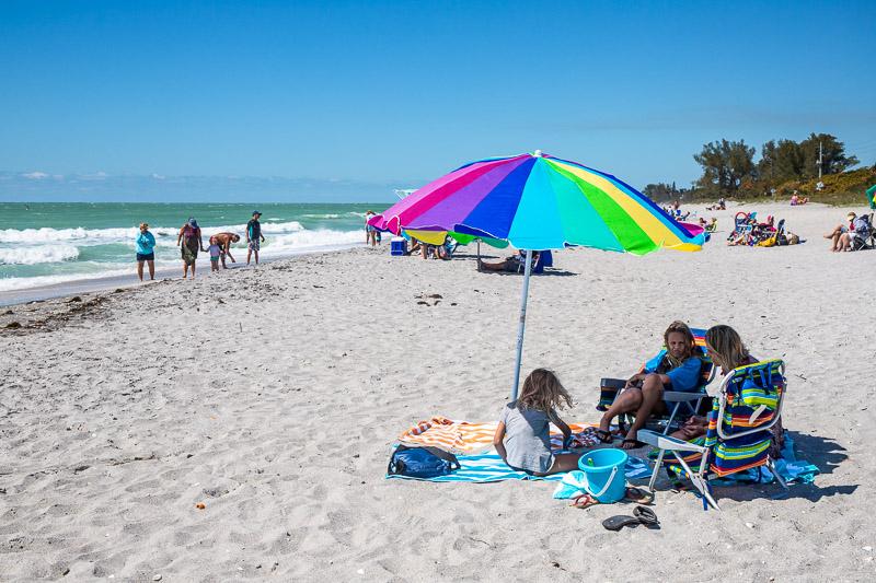 Beach time in Manasota Key Florida