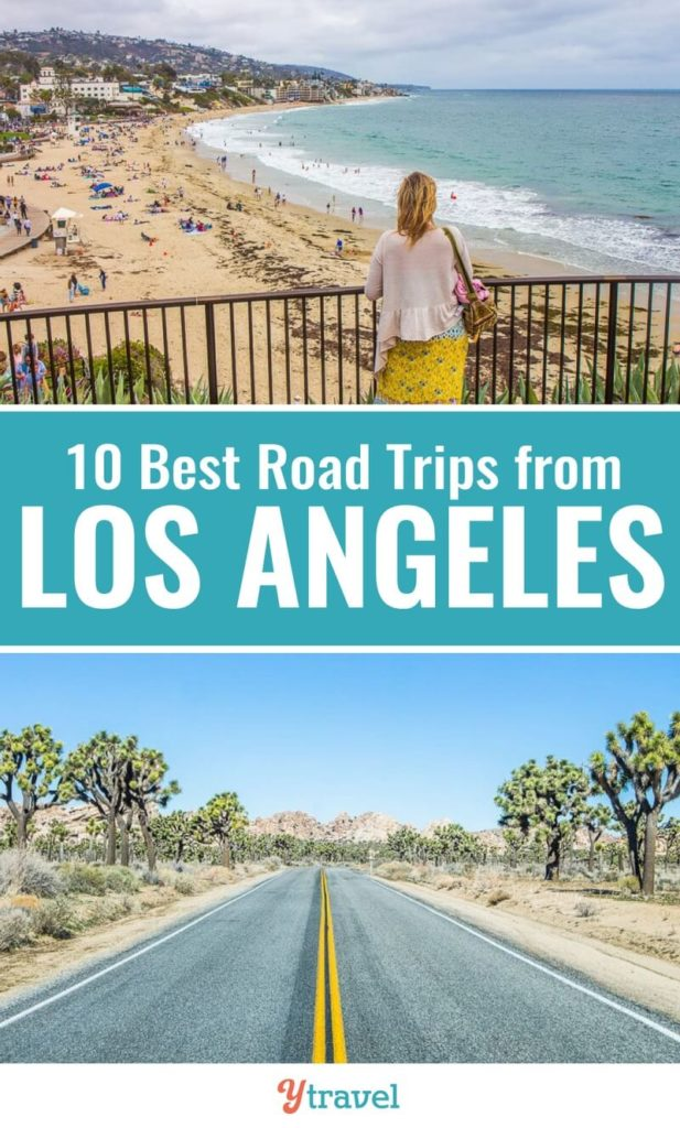 Looking for ideas about road trips from Los Angeles? Check out this list of 10 awesome road trips from LA to fantastic California destinations. Don't visit California before reading these Los Angeles travel tips.