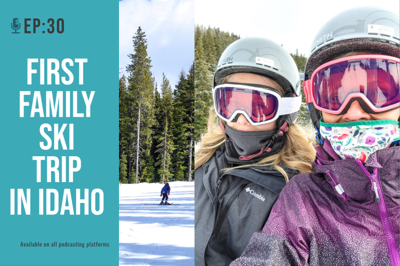 family ski trip idaho