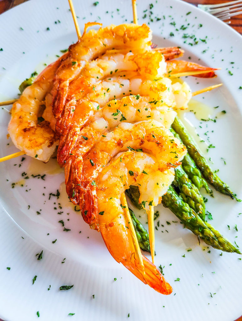 Food at Lake Blackshear Resort and Golf Club, Georgia