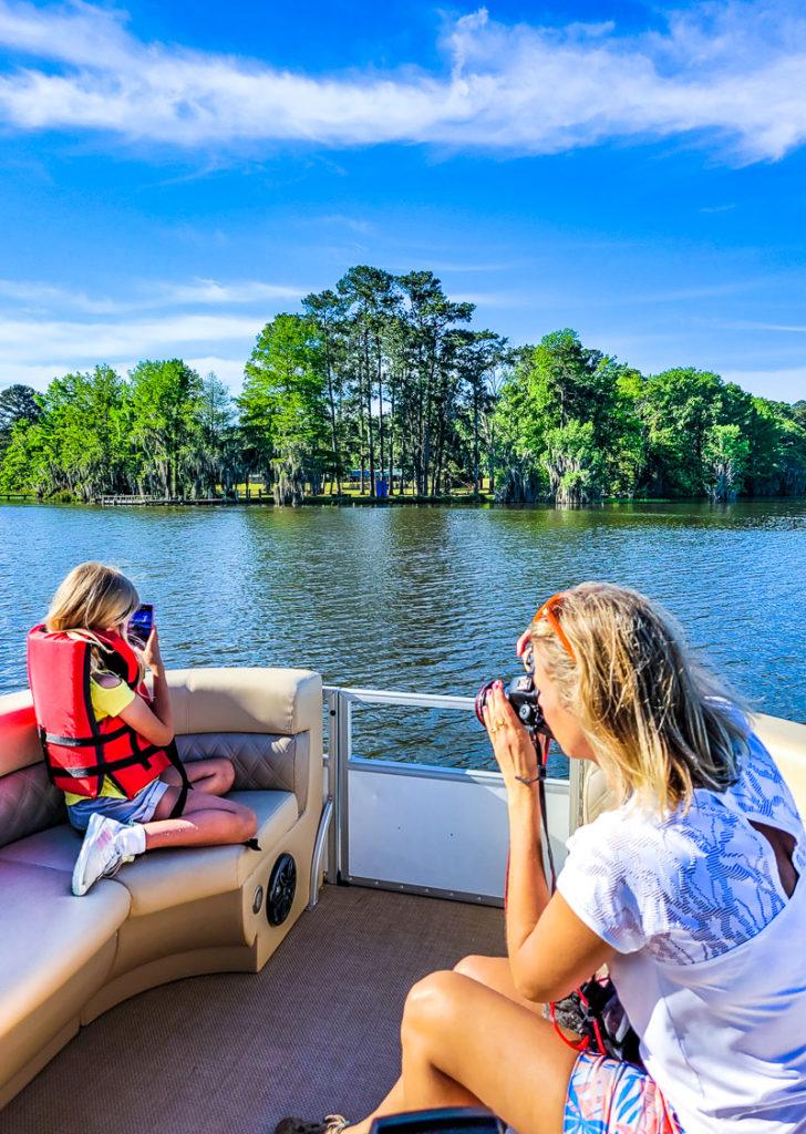 Boating at Lake Blackshear Resort and Golf Club