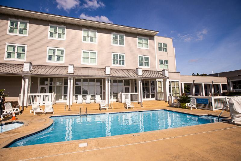 Pool at Lake Blackshear Resort and Golf Club