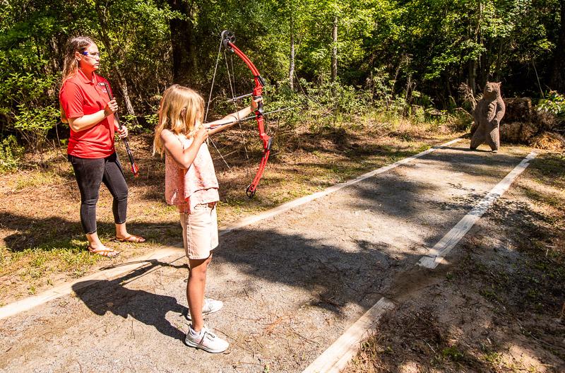 Archery at Lake Blackshear Resort