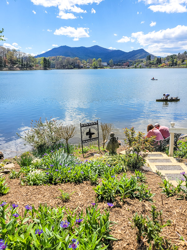 lake junaluska meditation garden
