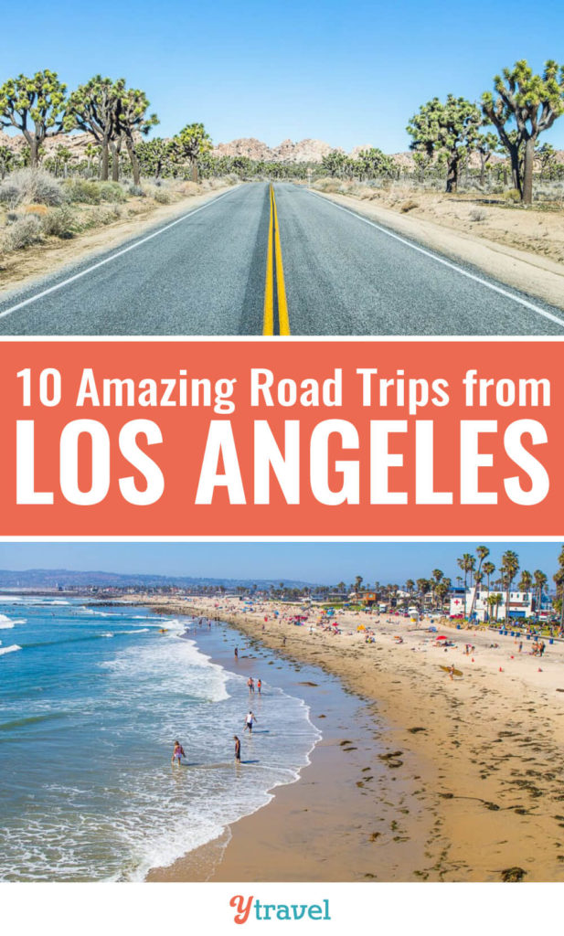 Interested in road trips from Los Angeles? Here is a great list of 10 awesome road trips from LA to fantastic California destinations. Don't visit California before reading these Los Angeles travel tips.