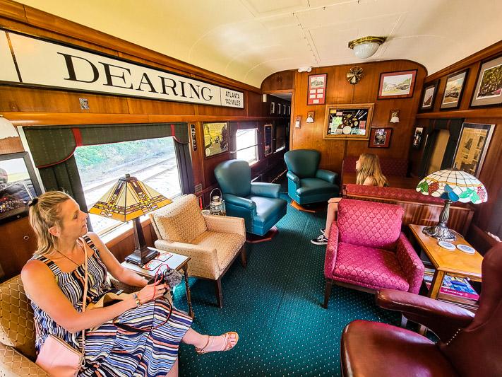 sam shortline train lake blackshear