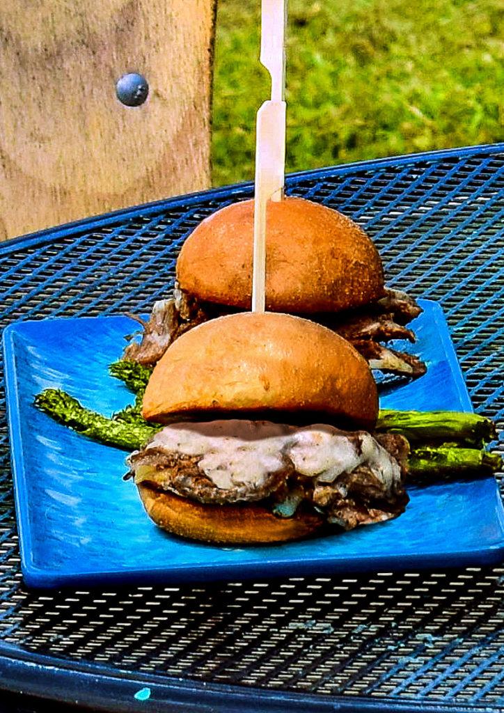 Burger at Lake Blackshear Resort and Golf Club, Georgia