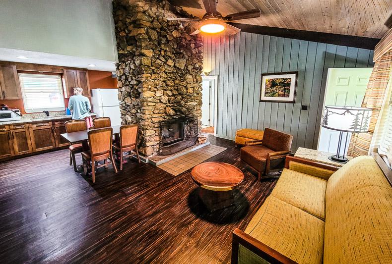 Cabin at Amicalola Falls State Park