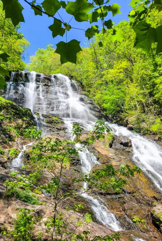 Amicalola Falls is beautiful