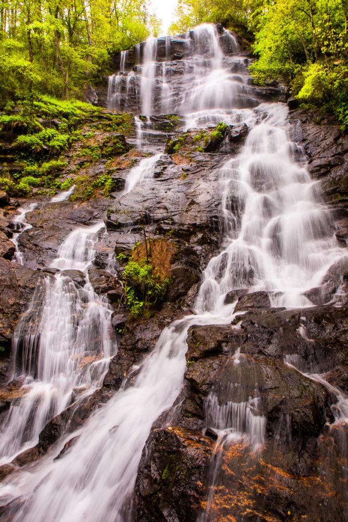 Amicalola Falls North Georgia mountains
