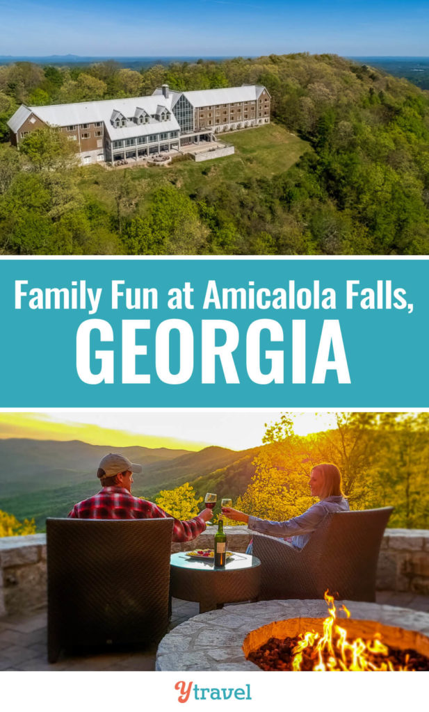 Looking for a fun getaway in Georgia? Consider Amicalola Falls State Park, it's just over an hour from Atlanta. Check out this guide on what to do there including the stunning falls, hikes, ziplining and much more. Put this on your Georgia travel wish list.
