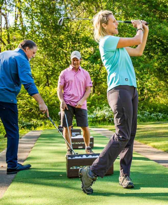 Golf lesson at Brasstown Valley Resort & Spa
