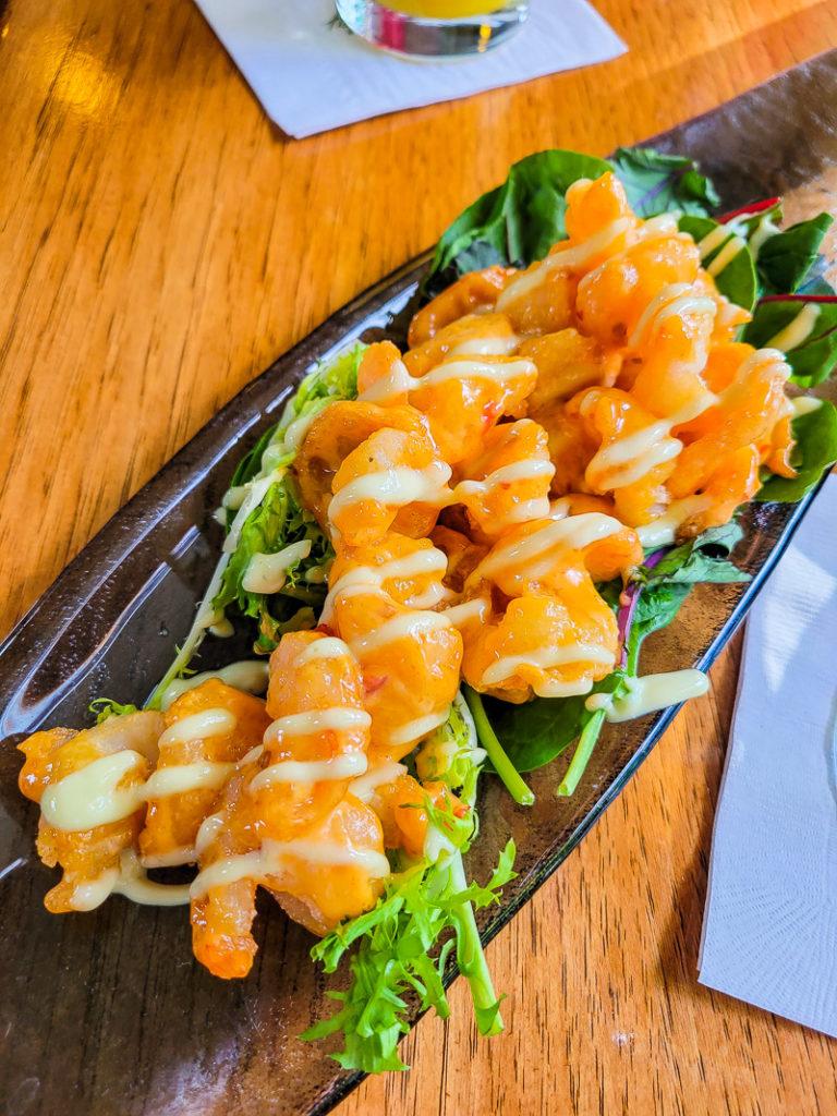 Shrimp at Brasstown Valley Resort & Spa