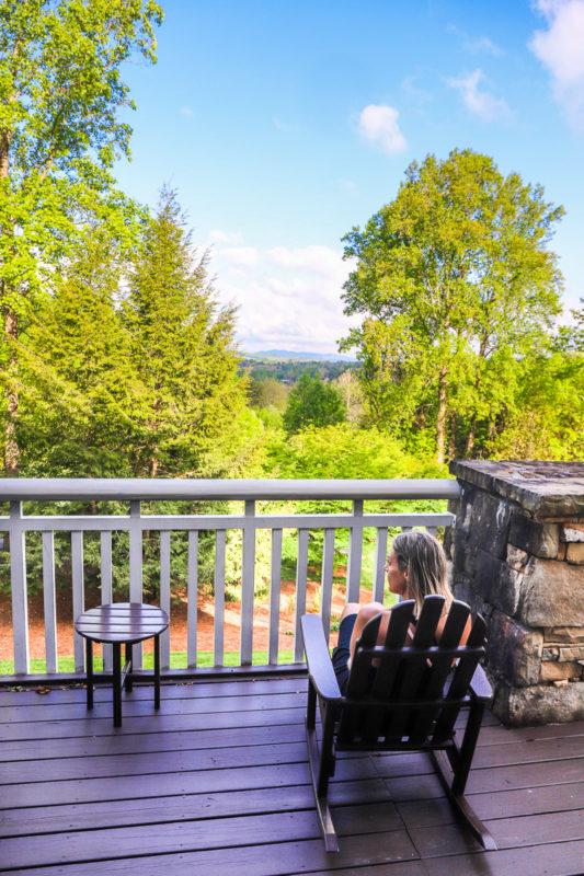 Stunning views at Brasstown Valley Resort & Spa