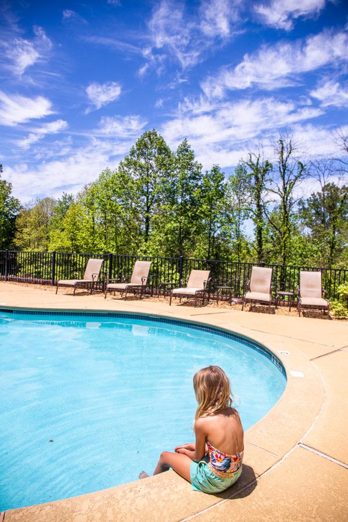 Pool at Brasstown Valley Resort & Spa