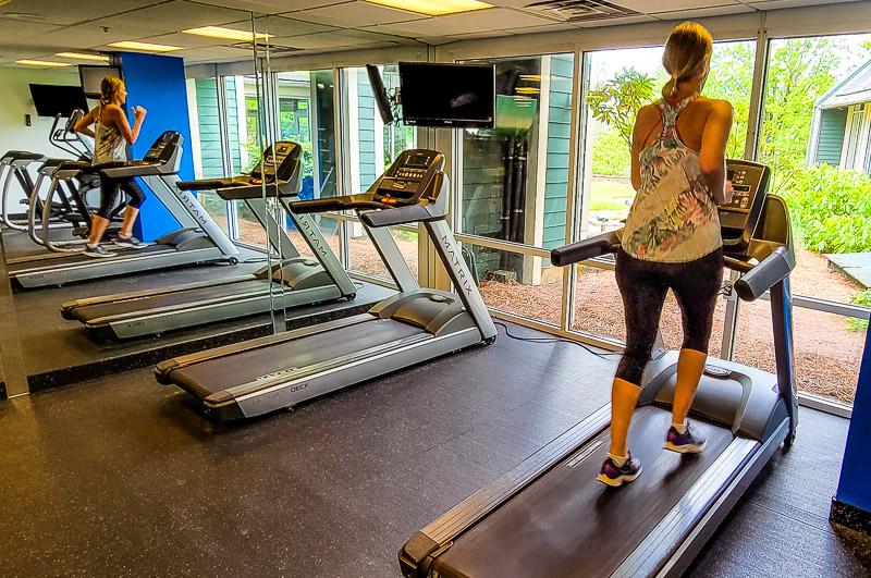 Gym at Brasstown Valley Resort & Spa