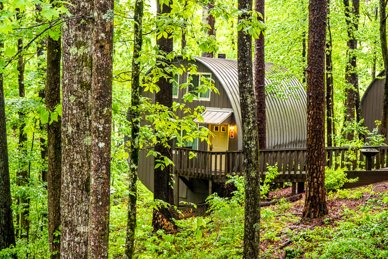 Cabins at Unicoi State Park, GA