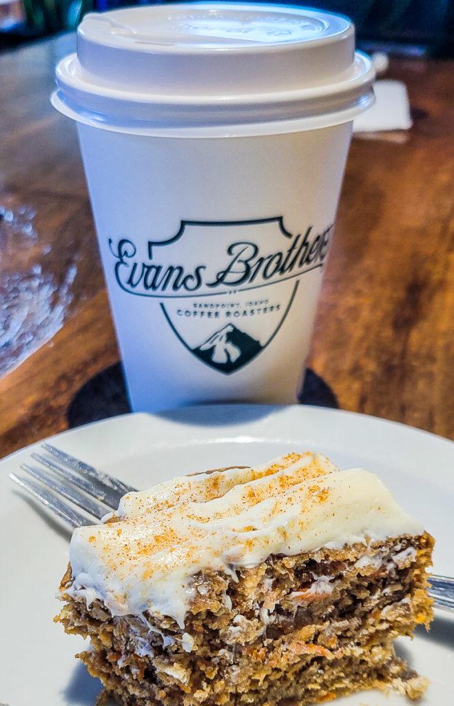 Evan Brothers Coffee Roasters in Sandpoint, Idaho