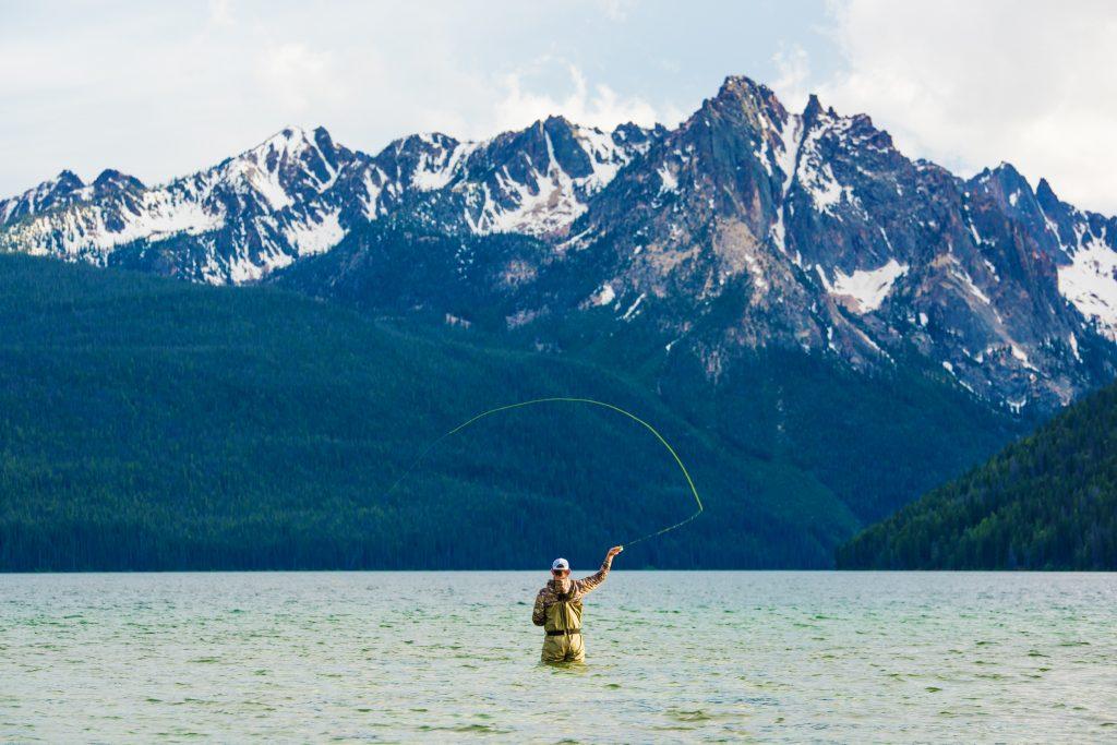 fly fishing redfish lake Idaho