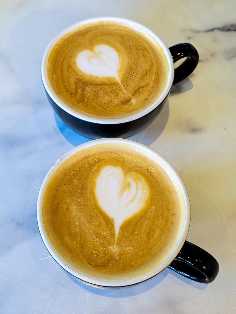 Coffee at Vault Coffee Shop in Coeur d'Alene, Idaho