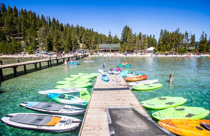 Redfish Lake, Stanley
