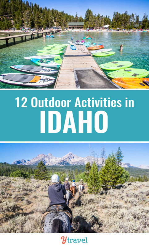 Looking for fun adaventures in Idaho? When you visit Idaho, don't miss these 12 fun family activities and adventures. Put these on your Idaho travel bucket list. #