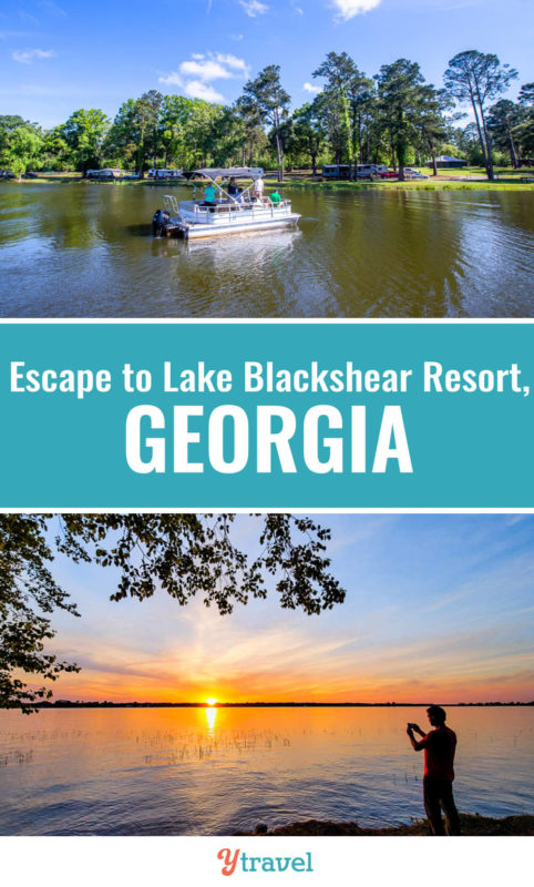 Looking for lake resorts in Georgia? Discover Lake Blackshear Resort & Golf Club for the perfect getaway. Enjoy relaxation and tons of family acitivities. Put this lake and resort on your Georgia travel bucket list.