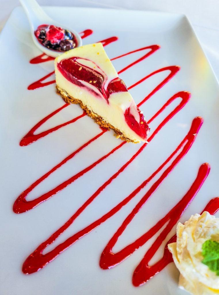 Dessert at Amicalola Falls State Park