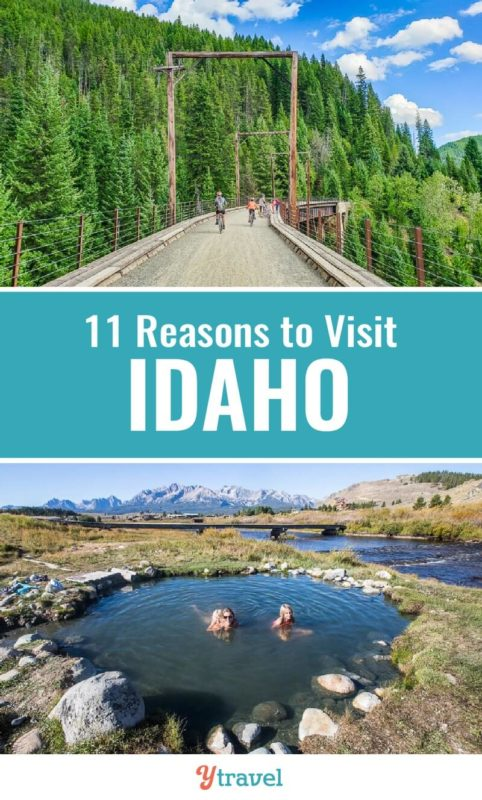 Idaho is one of the most underrated states in the USA for awesome travel experiences. Here are 11 reasons why you should visit Idaho for your next vacation. And put these Idaho activities on your Idaho travel bucket list.