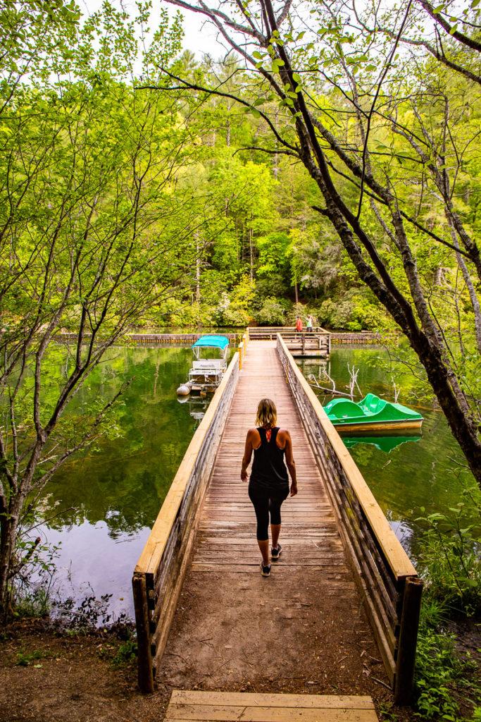 Lake Trail at Unicoi State Park, Georgia
