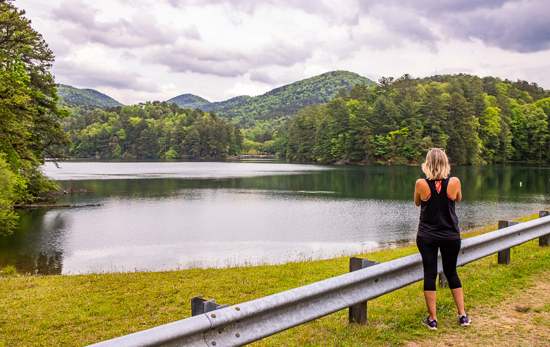 Lake Trail at Unicoi State Park