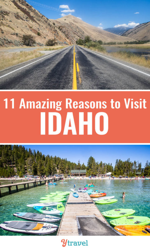 Idaho is one of the most under the radar states in the USA for awesome travel experiences. Here are 11 reasons why you should visit Idaho for your next vacation, and put these Idaho activities on your Idaho travel bucket list.