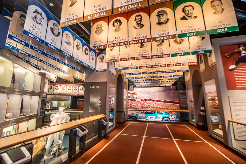 Inside the NC Sports Hall of Fame