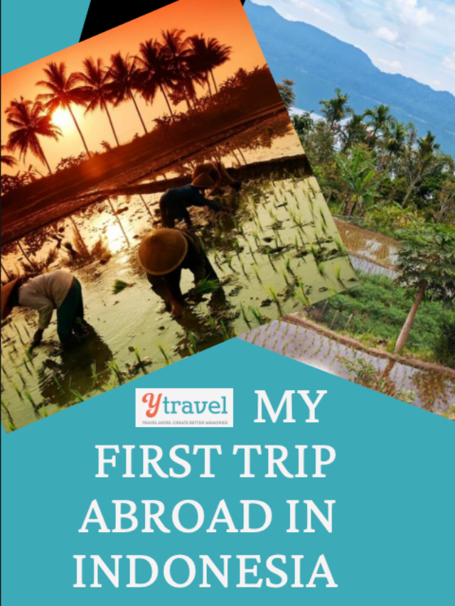 MY FIRST TRIP ABROAD IN INDONESIA