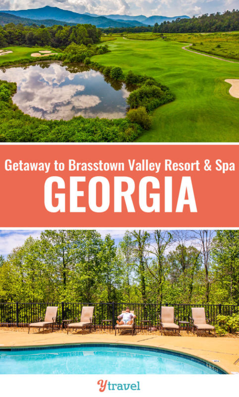 Looking for getaways in Georgia? Brasstown Valley Resort & Spa in the North Georgia Mountains offers relaxation + adventure for all the family. If you love golf, spa treatments, hiking, boating, tennis, pools, you'll love this resort. Check out this guide.