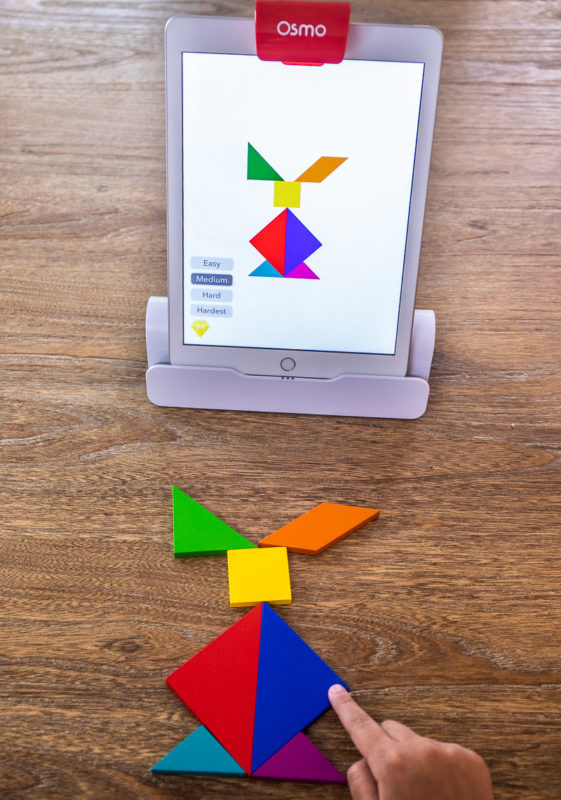 The Osmo is such a fun game for kids!