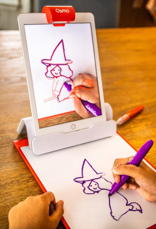 Fun drawing game on the Osmo