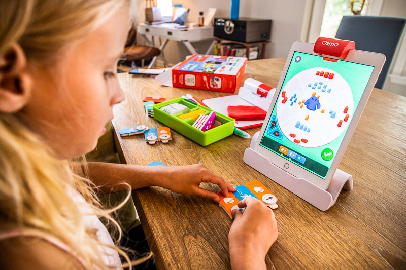 Play Osmo is a great homeschooling tool for kids and parents
