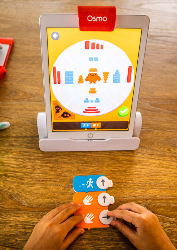 Kids love playing on the Osmo