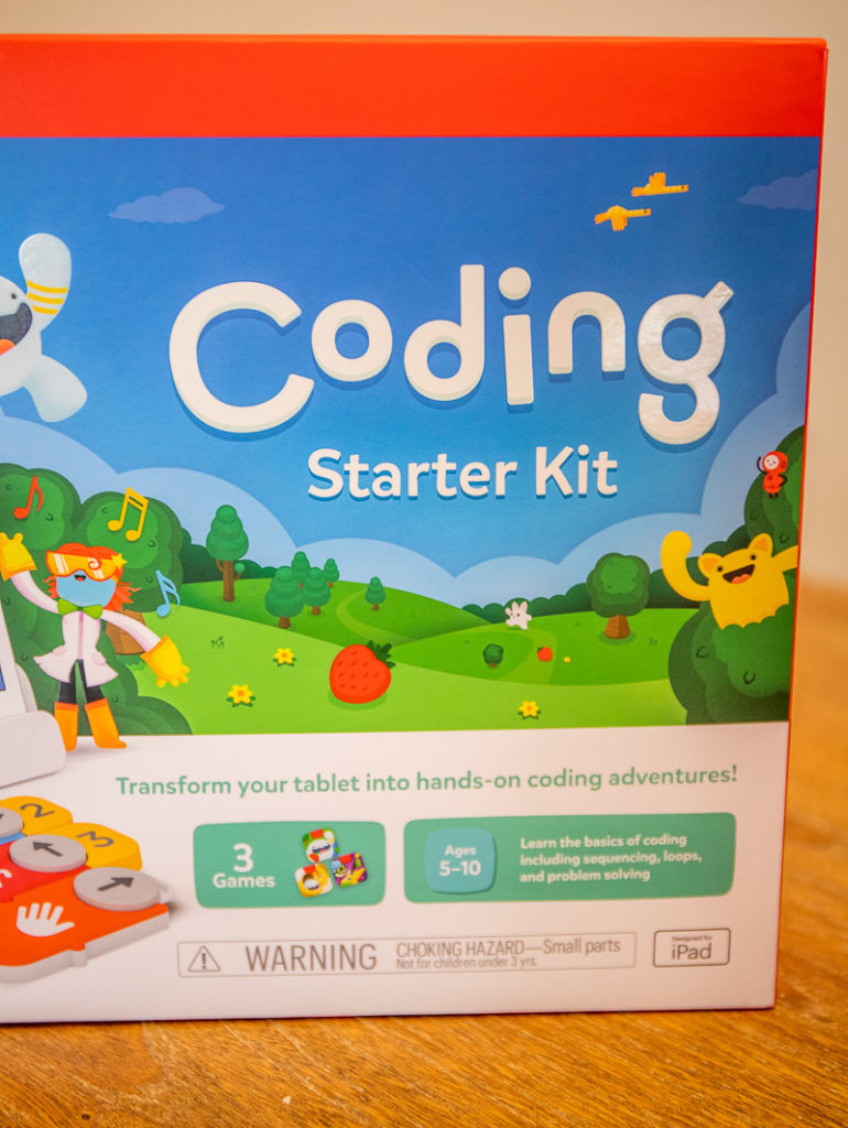 Coding game on the Osmo