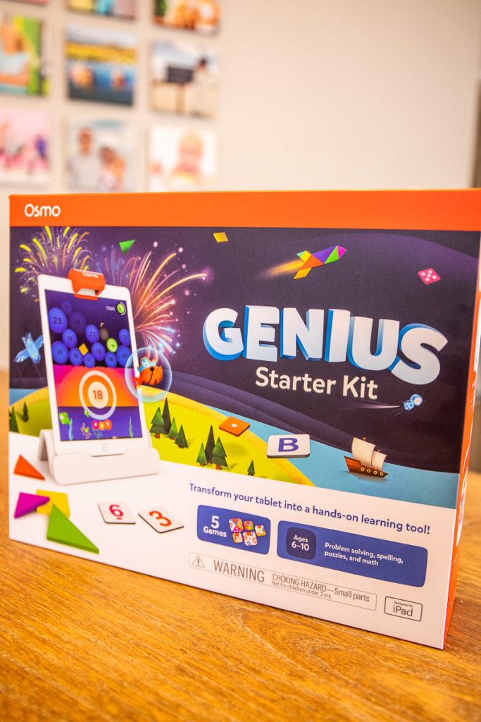 Genius game on the Osmo