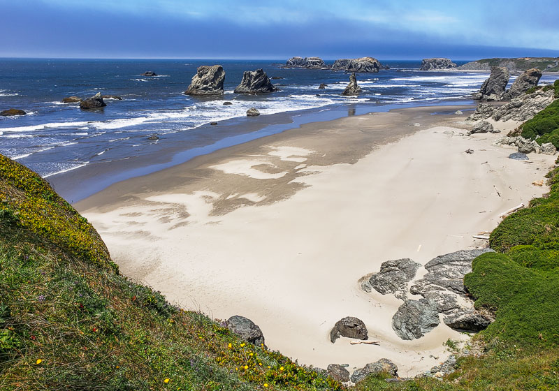 face rock state scenic viewpoint bandon