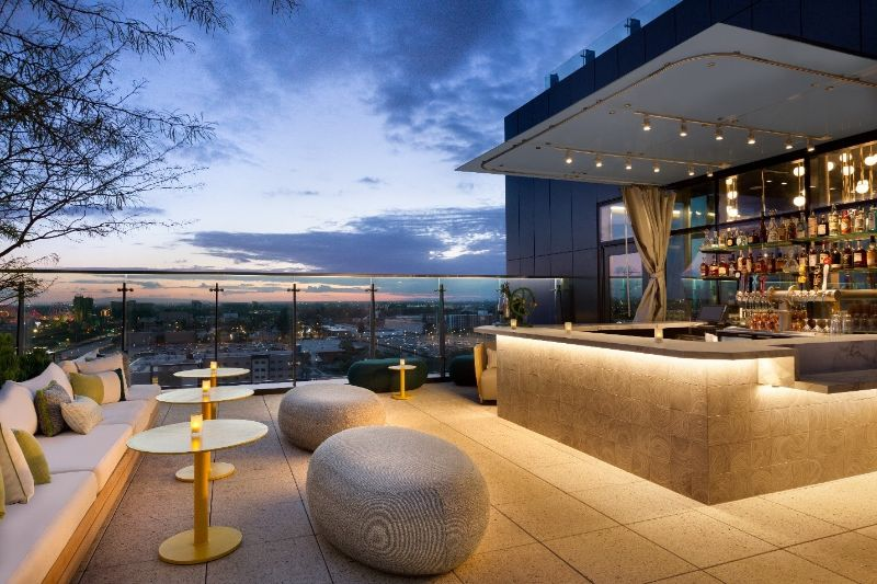 Radisson Blu Anaheim rooftop bar