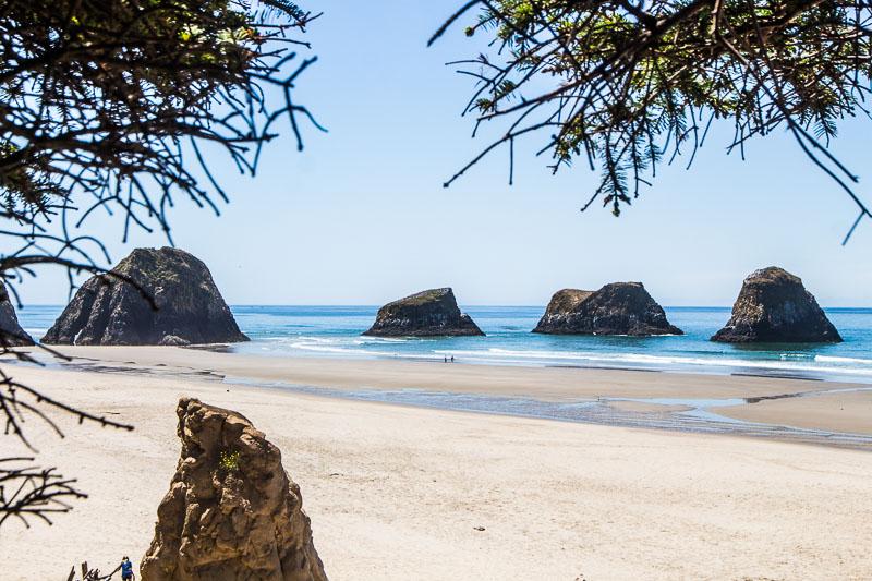 Crescent Beach ORegon Coast road trip
