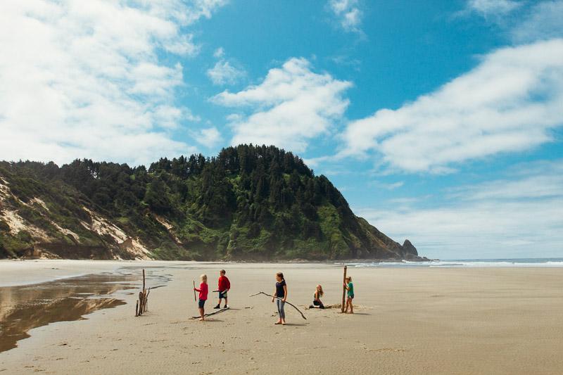 Hobbit Beach, Oregon Coast