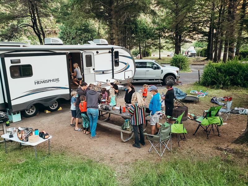 campsite humbug mountain state park