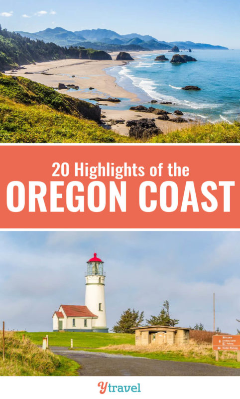 An Oregon coast road trip is a highlight when visiting the Pacific Northwest region of the USA. Here are 20 highlights of an Oregon road trip not to miss!