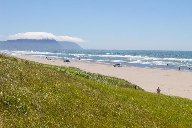 Seaaside beach oregon