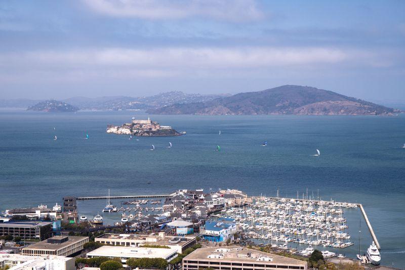 Alcatraz Island Telegraph Hill